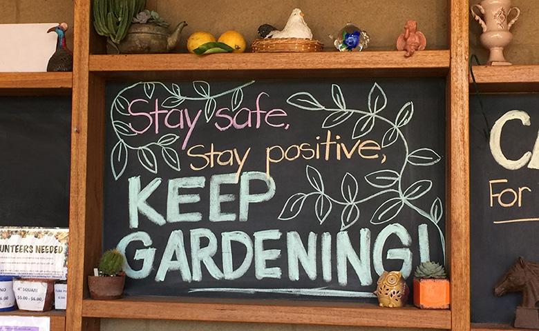 keep gardening