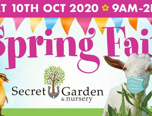 Secret Garden Spring Fair 2020