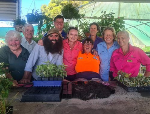 Gardening Australia visit